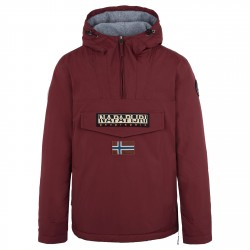 Cagoule Napapijri Rainforest Winter Homme bordeaux