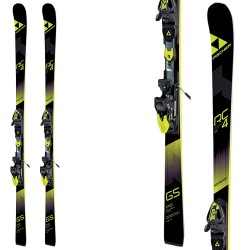 Ski Fischer RC4 WorldCup GS Jr Curv Booster + bindings Rc4 Z9