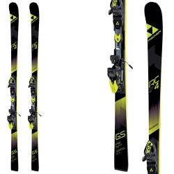 Ski Fischer RC4 WorldCup GS Jr Curv Booster + bindings Fj7