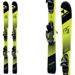 Ski Fischer RC4 Race Jr Slr 2+ bindings Fj7 Ac Slr