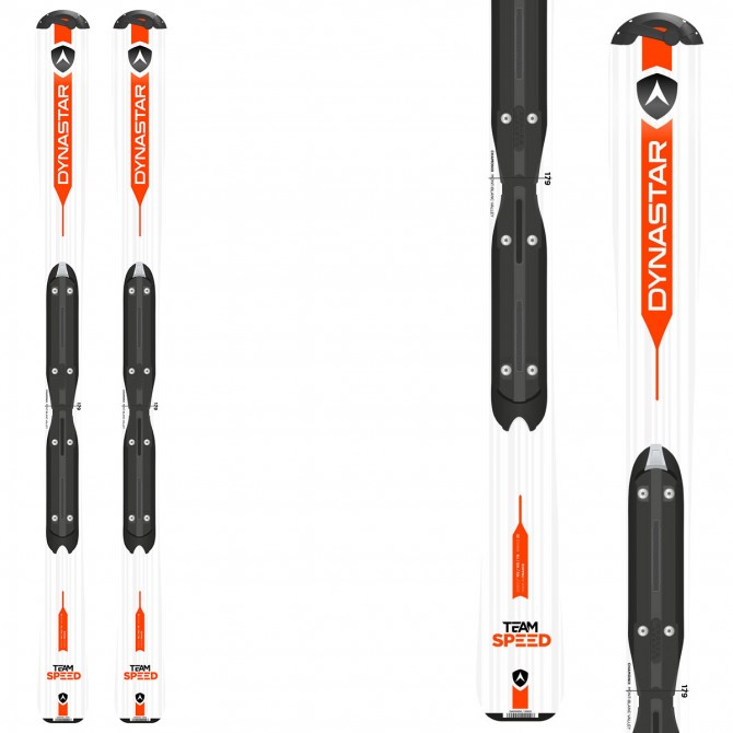 Ski Dynastar Team Speed 100-130 + bindings Kid-X 4 B76