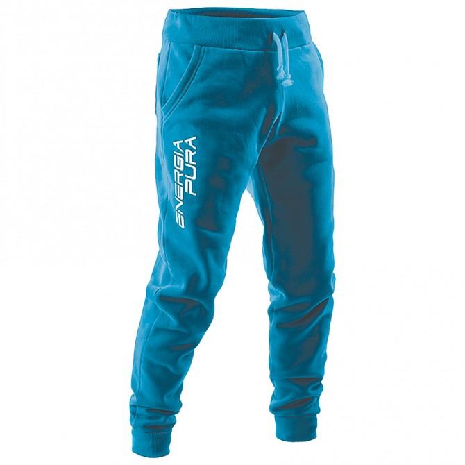 Pantalone felpa Energiapura Skurup turchese-bianco