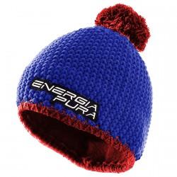 Berretto Energiapura Peak blu-rosso
