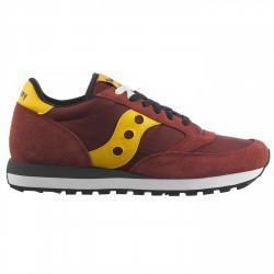 Sneakers Saucony Jazz Original Hombre burdeos-amarillo