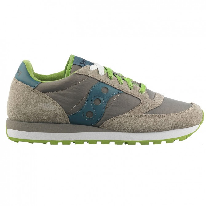 Sneakers Saucony Jazz Original Homme gris-vert