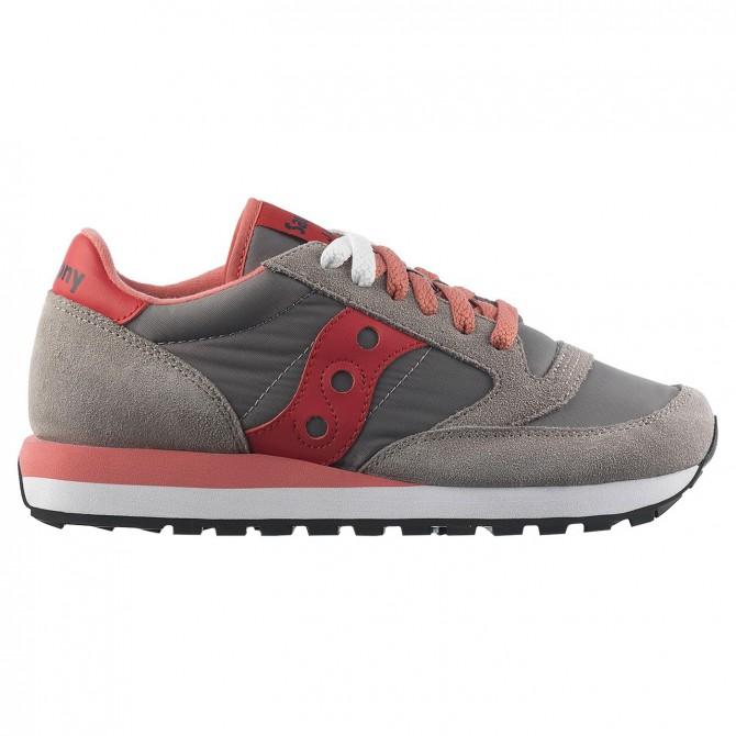 sports shoes 2214e 7c36f SAUCONY MUJER JAZZ S1044 ZAPATOS SNEAKERS logo cordones Suela de goma