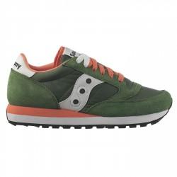 Sneakers Saucony Jazz Original Femme vert-corail