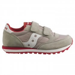 Sneakers Saucony Jazz Original Double Garçon gris