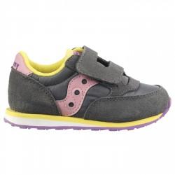 Sneakers Saucony Jazz Original Baby grigio-rosa