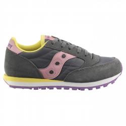 Sneakers Saucony Jazz O' Bambina grigio-rosa