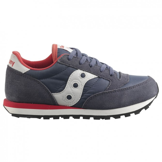 Sneakers Saucony Jazz O' Fille bleu-rose
