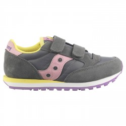 Sneakers Saucony Jazz Original Double Bambina grigio