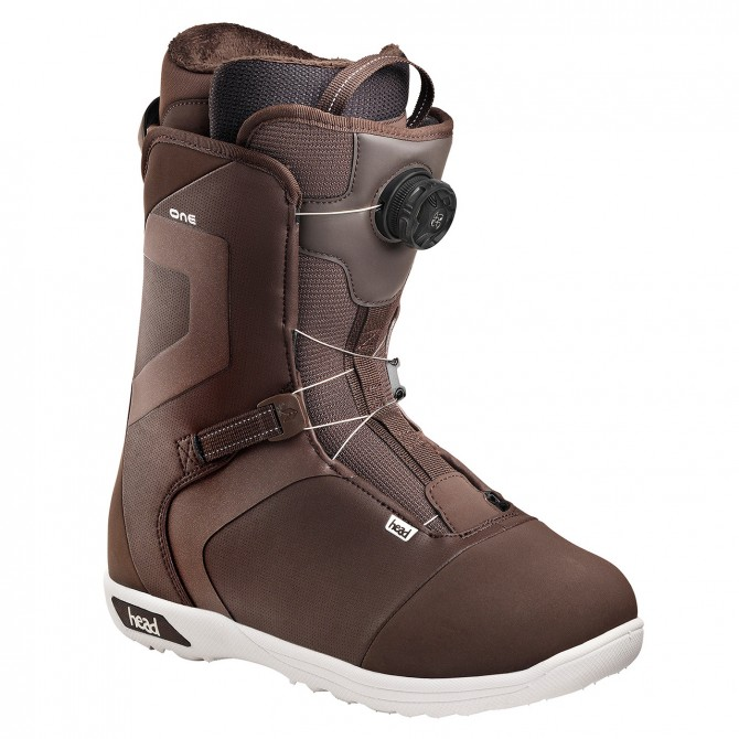 Snowboard boots Head One Boa Man brown