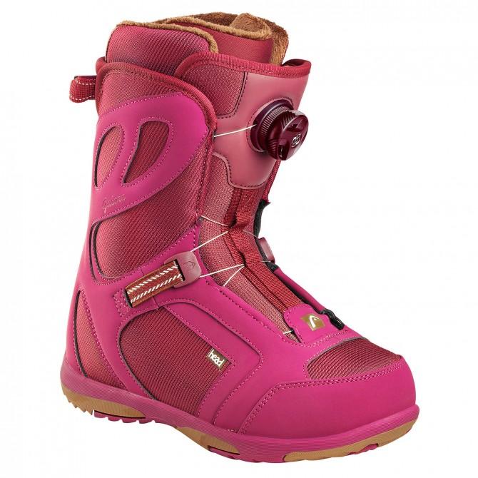 Snowboard shoes Head Galore Pro Boa burgundy