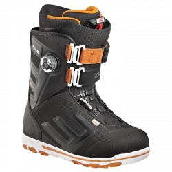 Chaussures snowboard Head Five Boa noir-orange