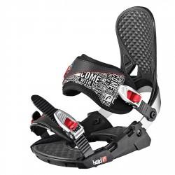 Attacchi snow Head P Three 4d Speed Disc nero-bianco-rosso