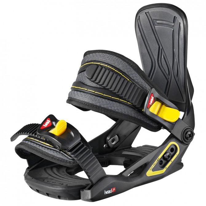 Attacchi snow Head p 4D Junior speed Disc nero-giallo