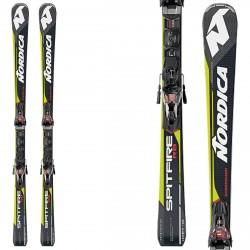Esquí Nordica Dobermann Spitfire Rb Evo + fijaciones Pro X-Cell Evo