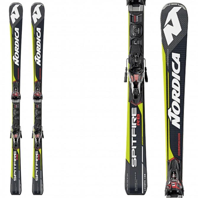 Ski Nordica Dobermann Spitfire Rb Evo + bindings Pro X-Cell Evo