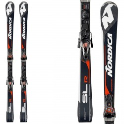 Esquí Nordica Dobermann Slr Rb Evo + fijaciones NPro X-Cell Evo