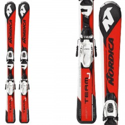 Ski Nordica Team J Race Fdt (70-90) + bindings Jr 4.5