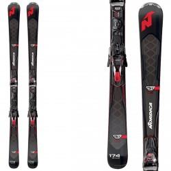 Esquí Nordica Gt 80 Ti Evo + fijaciones Tpx 12 Evo