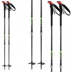 Bâtons ski Head Multi S noir-vert