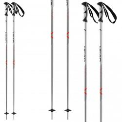 Bâtons ski Head Multi S noir-rouge