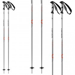 Ski poles Head Multi S black-red