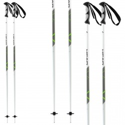 Ski poles Head Multi S green