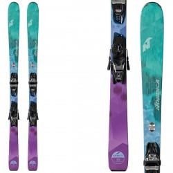 Esquí Nordica Astral 78 Fdt + fijaciones Free 11 Fdt