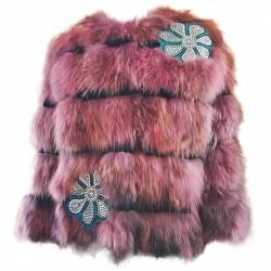 Giacchino corto pelliccia Mpd Box Donna rosa
