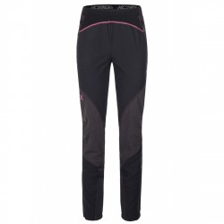 Pantalone alpinismo Montura Vertigo Donna nero-rosa