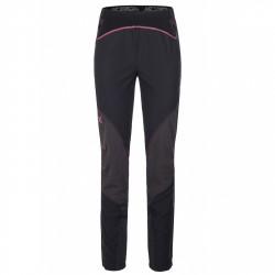 Pantalones montaña Montura Vertigo Mujer negro-rosa