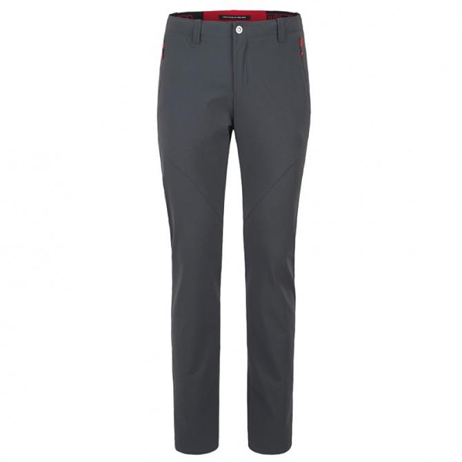 Pantalon randonnée Montura Adamello Homme gris-rouge