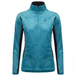Mountaineering jacket Montura Polar Style Woman teal