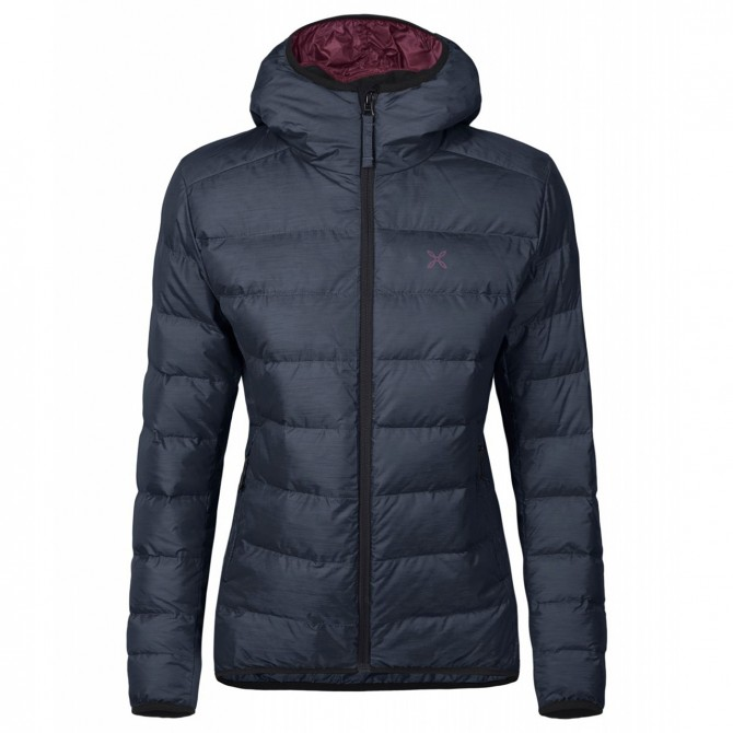 Mountaineering down jacket Montura Atlantic Woman blue