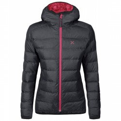 Mountaineering down jacket Montura Atlantic Woman grey-pink