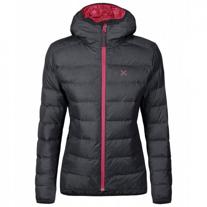 Mountaineering down jacket Montura Atlantic Woman grey-pink