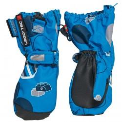 Ski mittens Lego Adele 771 Junior light blue