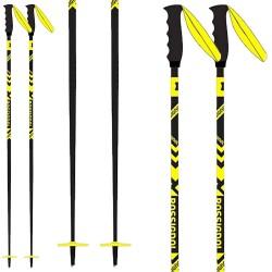 Bâtons ski Rossignol Stove noir-jaune