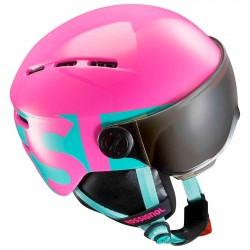Casque ski Rossignol Visor Jr rose