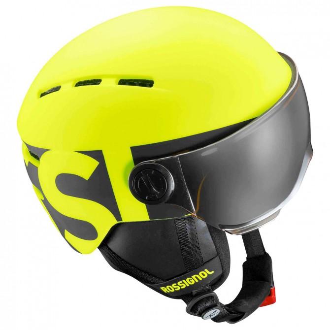 Casco esquí Rossignol Visor Jr amarillo
