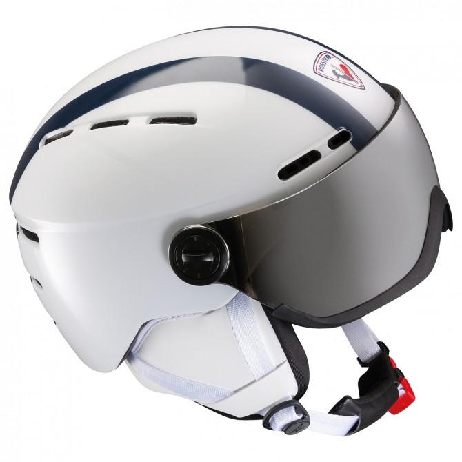 casco sci donna  Casco sci Rossignol Visor Strato Donna - Bottero Ski