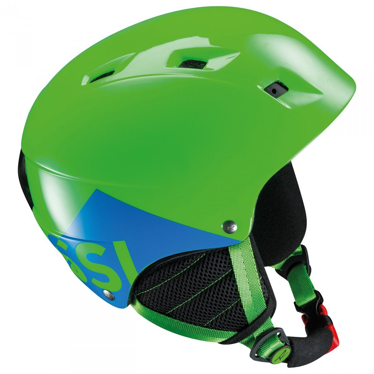Casco sci Rossignol Comp J (Colore: verde, Taglia: 53/56)