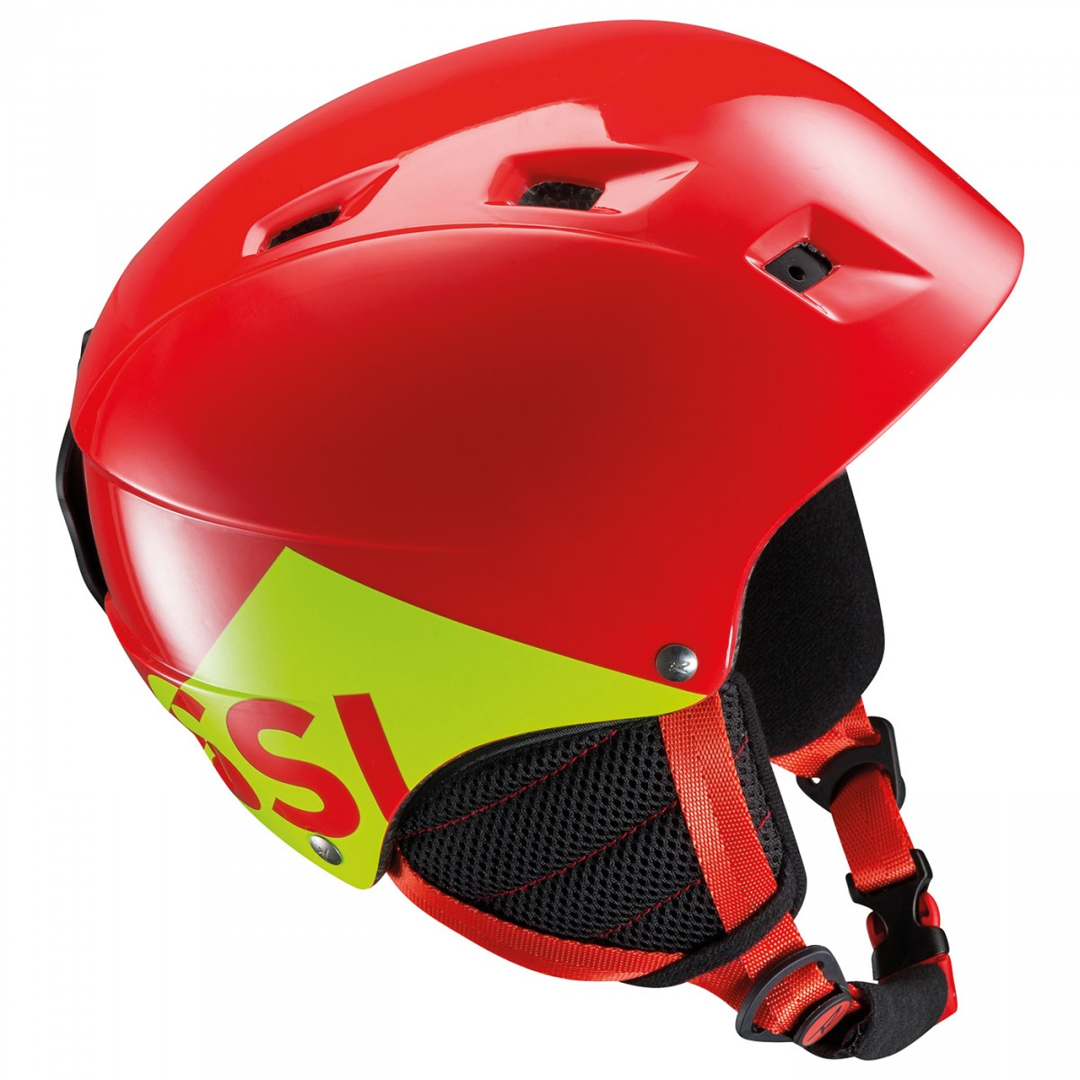 Casco sci Rossignol Comp J (Colore: rosso, Taglia: 49/52)