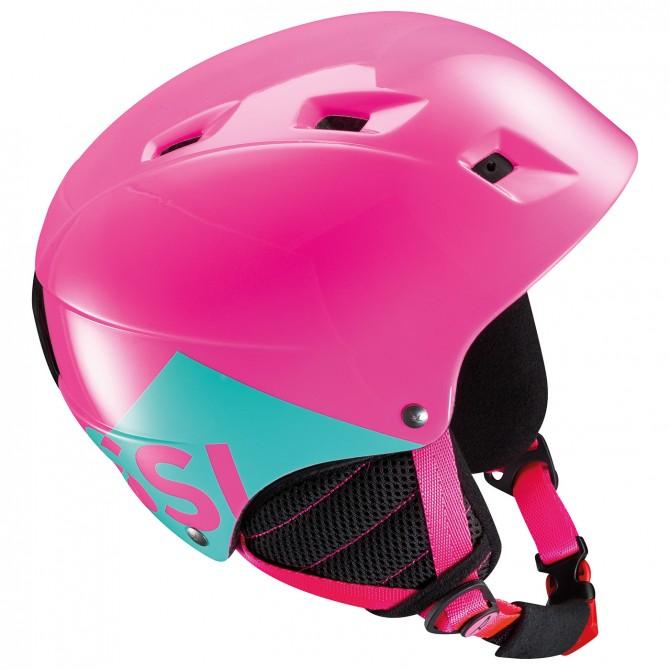 Casco sci Rossignol Comp J rosa-verde