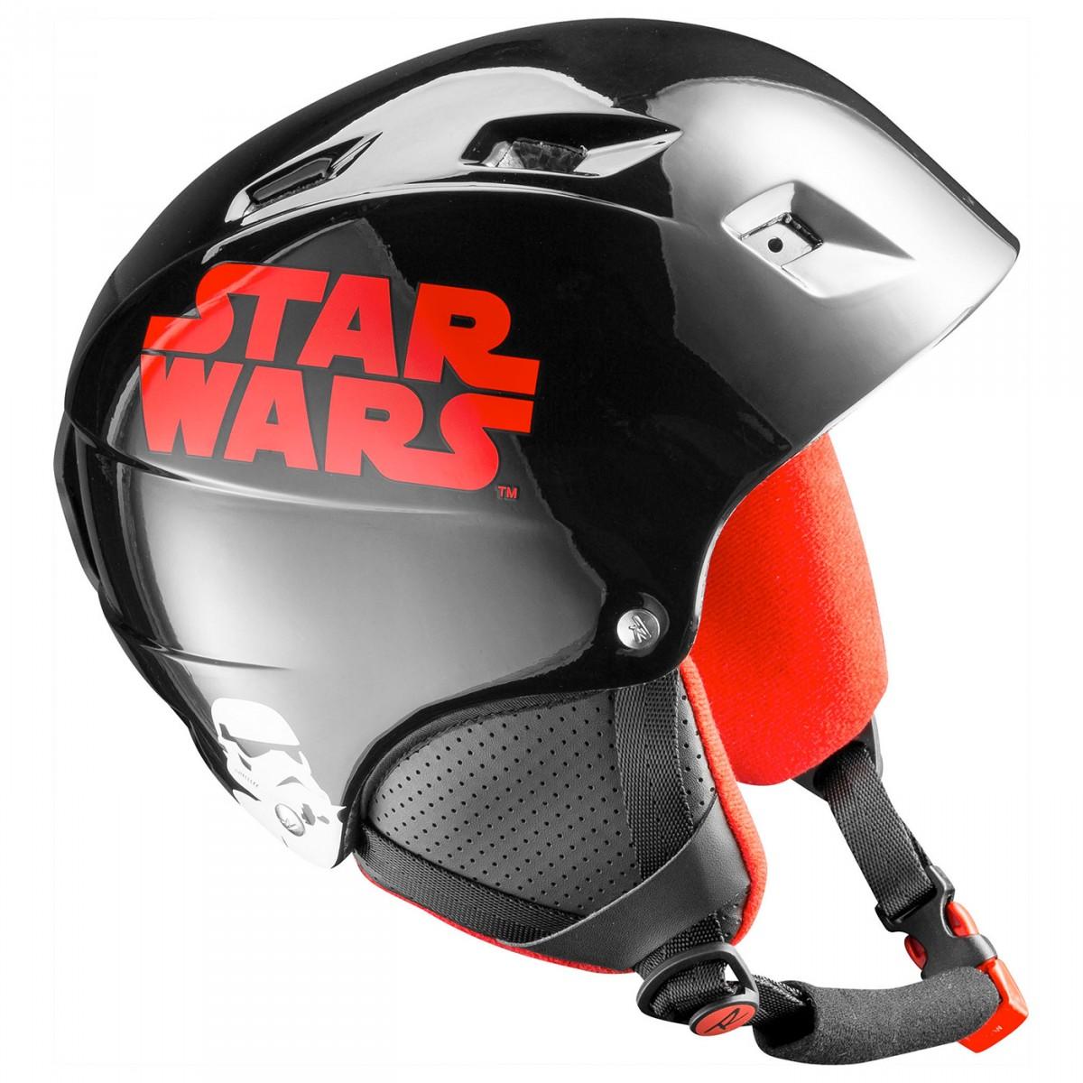 Casco sci Rossignol Comp J Star War (Colore: nero-rosso, Taglia: 49/52)