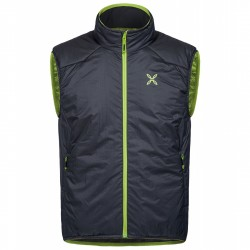 Mountaineering vest Montura Essential Man grey-green