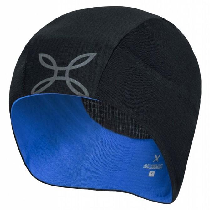 Cappello Montura Winter nero-celeste